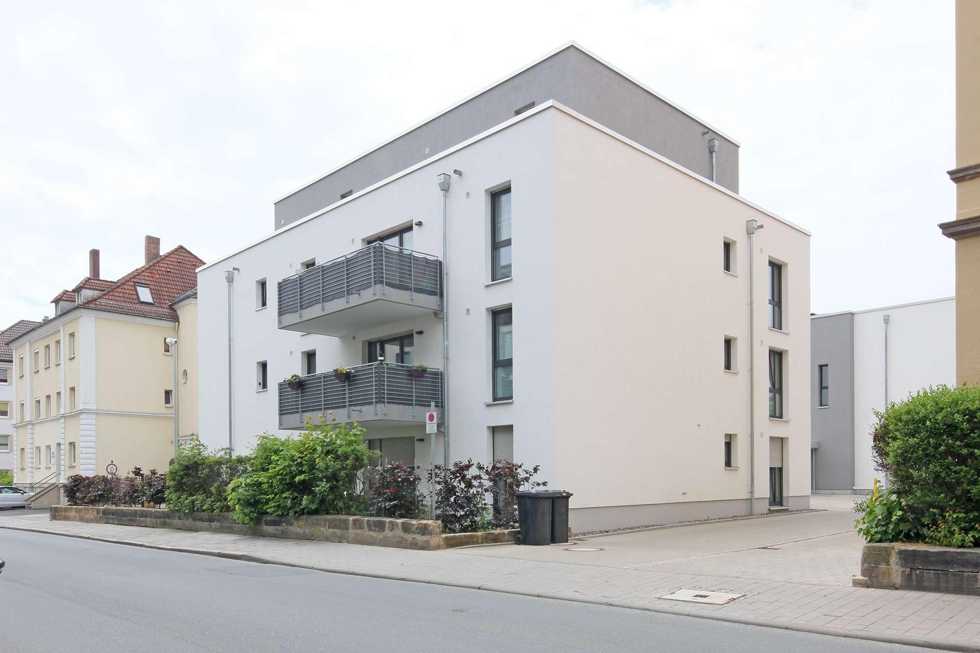 2018er Neubau 3-Zimmer-Wohnung mit Sonnenbalkon in ruhiger, zentraler Lage!