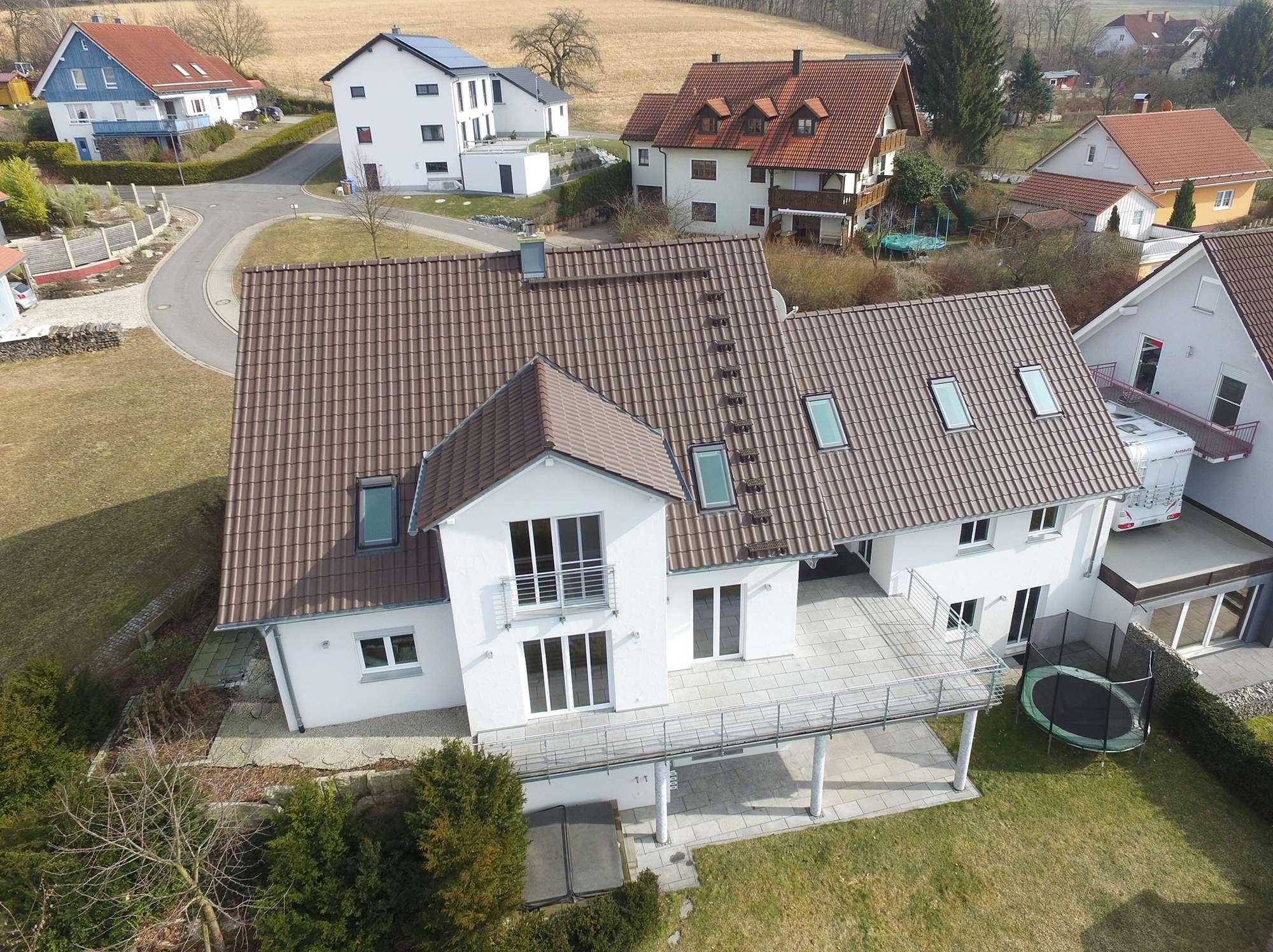 Architektenhaus der Superlative mit Whirlpool im Neubaugebiet, wenige Minuten vor Bayreuth!