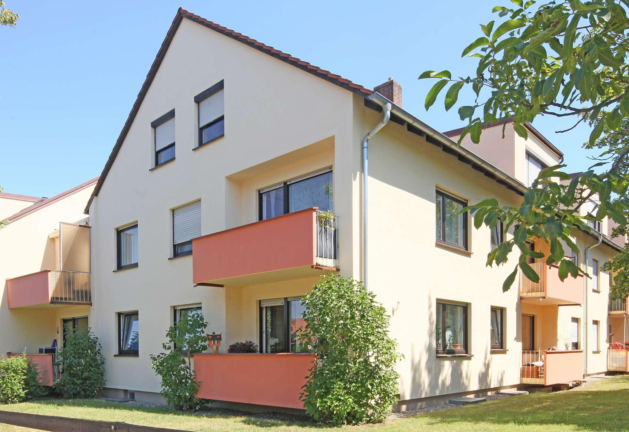 Top Kapitalanlage: Schicke 2-Zimmer-Wohnung in ruhiger, zentraler Lage mit Balkon & Garage!