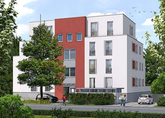 BIRKEN 16 – 1-Zimmer-Wohnung Nr. 2 im EG mit 39,94 m² Wohnfläche!