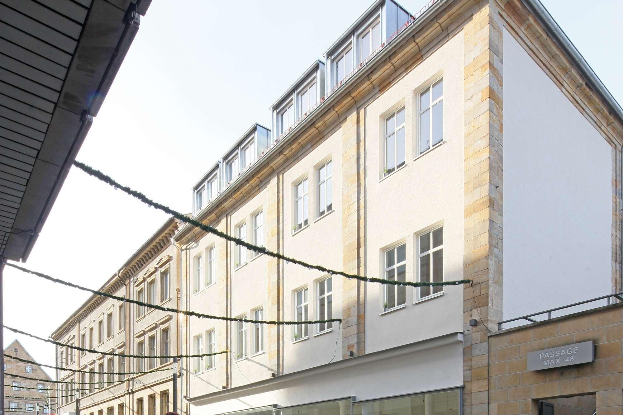 2020 kernsanierte DG-Büroetage am Marktplatz/ZOH mit Aufzug und herrlichem Ausblick über Bayreuth!