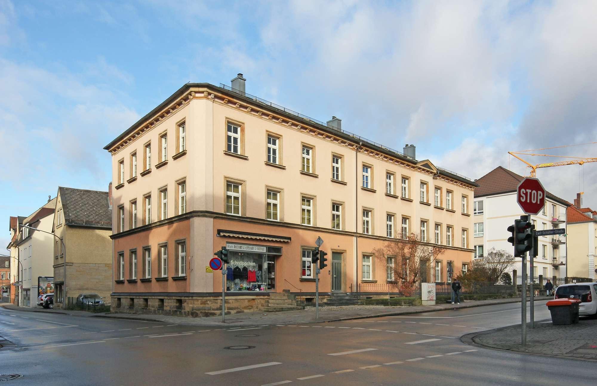 Renditestarkes Mehrfamilienhaus, vollvermietet im Bayreuther Zentrum!