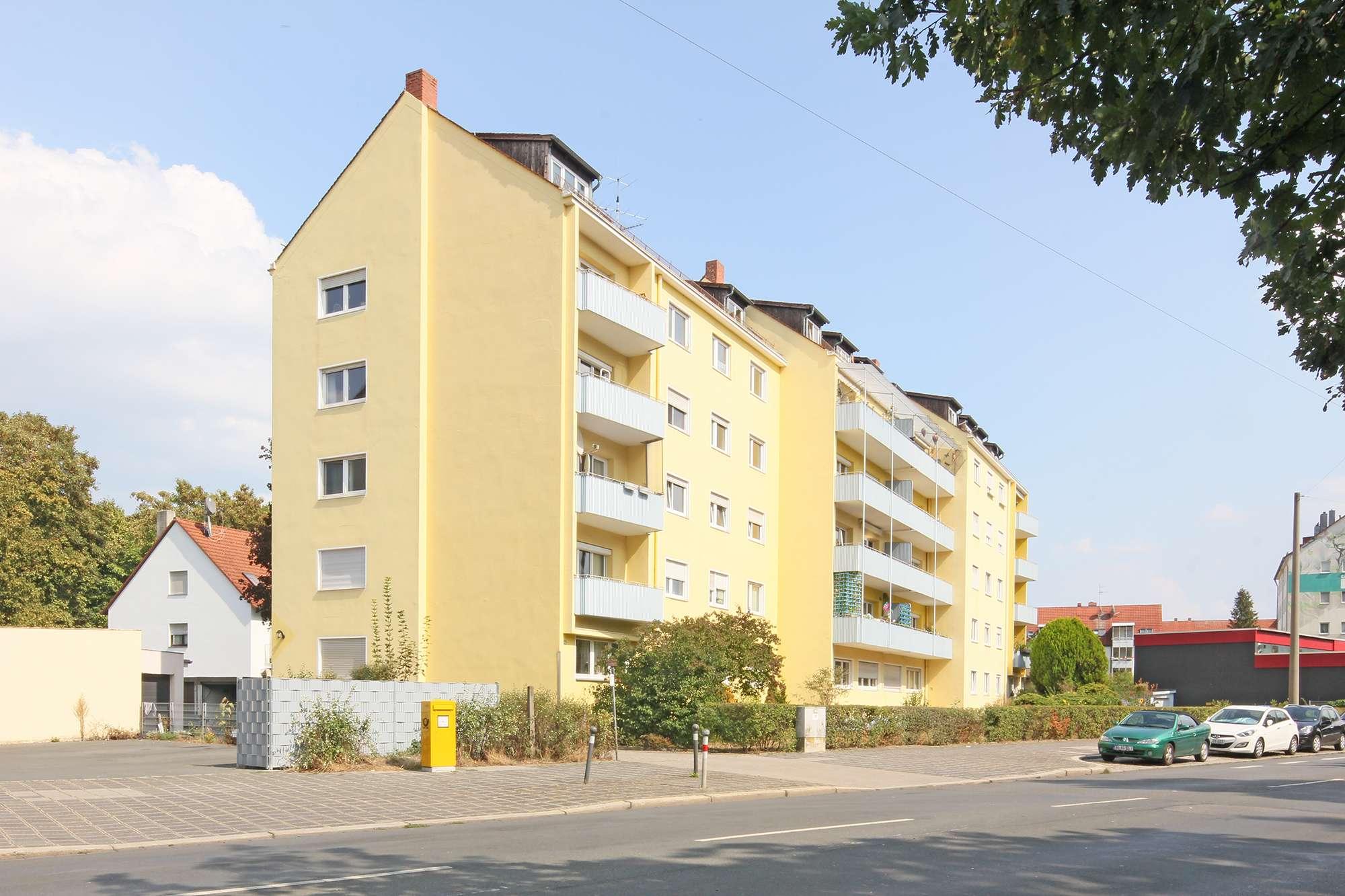 Großzügige 4-Zimmer-Stadtwohnung in St. Johannis mit zwei Balkonen & Blick ins Grüne!