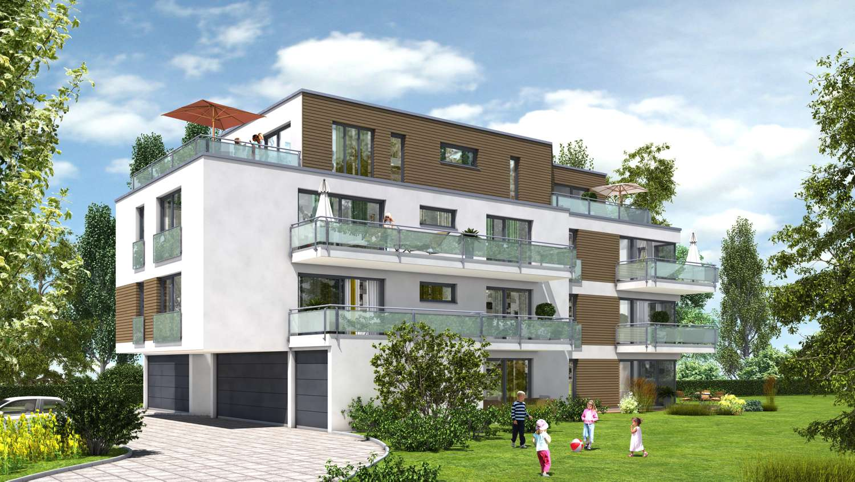 CITY LIVING BAYREUTH: Neubau 1-Zimmer-Eigentumswohnung in attraktiver Wohnanlage im Zentrum!