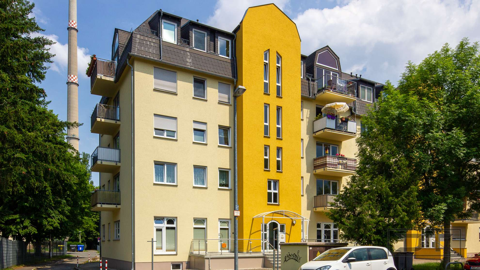 Moderne 3-Zimmer Wohnung mit Süd-Balkon in ruhiger Chemnitzer Lage!